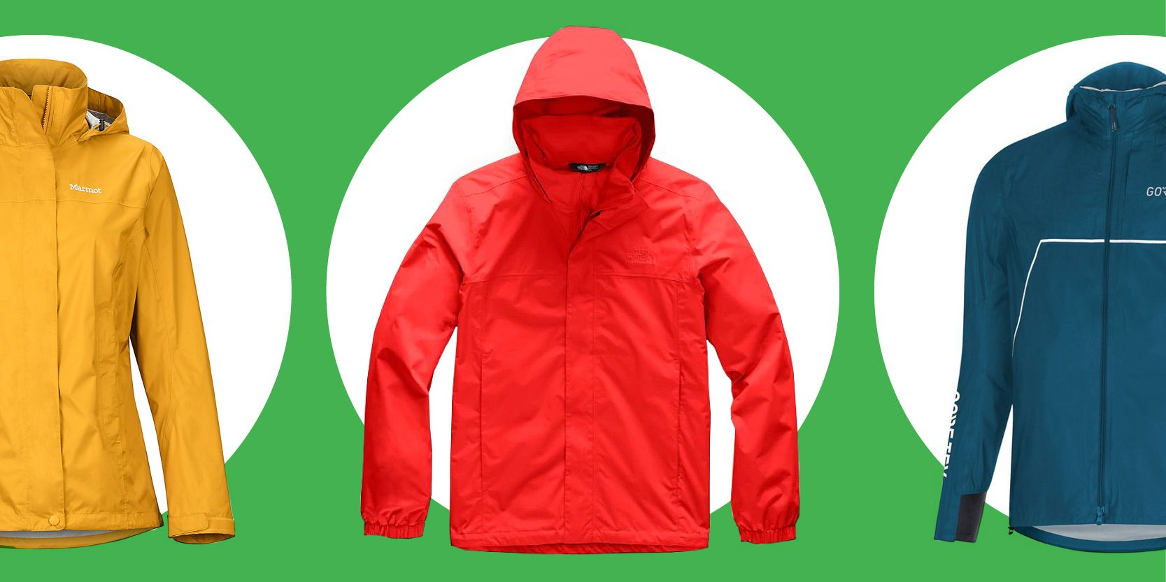 Make the most of rainy days with our 100% waterproof jacket