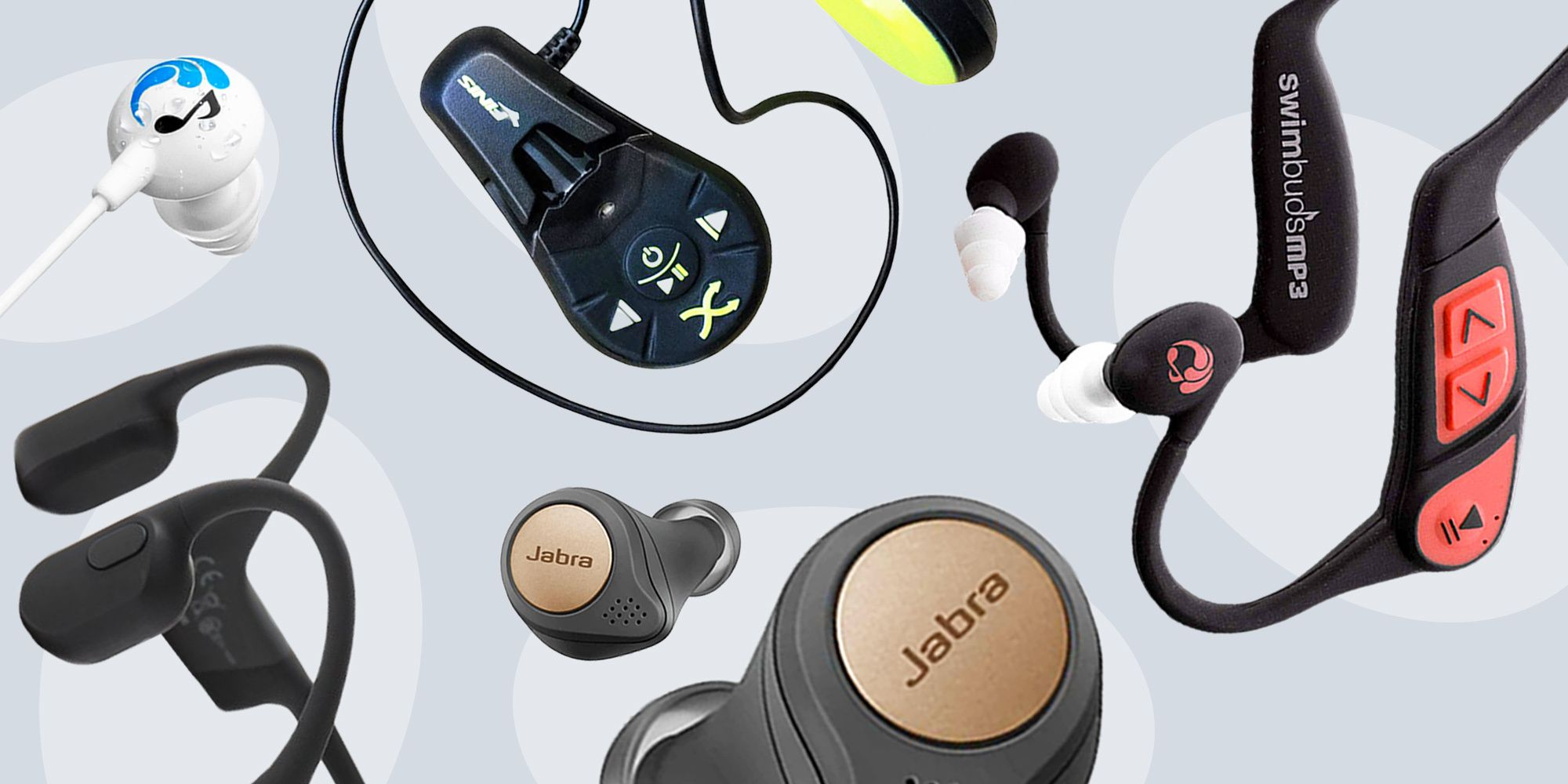 10 Best Waterproof Headphones Top Wireless Earbuds For Swimming Workouts In 2020