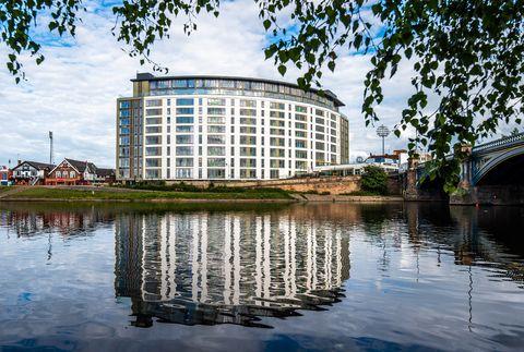 waterside flat for sale