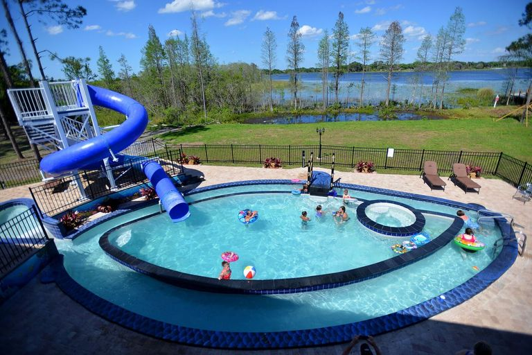 You Can Rent An Insane Home With Its Own Lazy River And Board Game