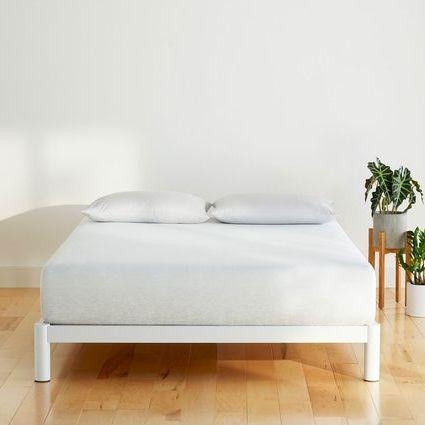 Furniture, Bed, Floor, Room, Table, Interior design, Wall, Bedroom, Bed frame, Comfort,