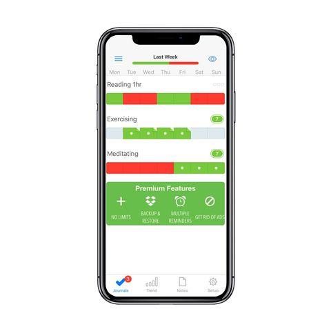 Way of Life habit tracker app