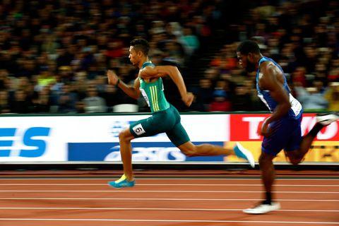 Wayde Van Niekerk se pierde Mundial de atletismo de Doha