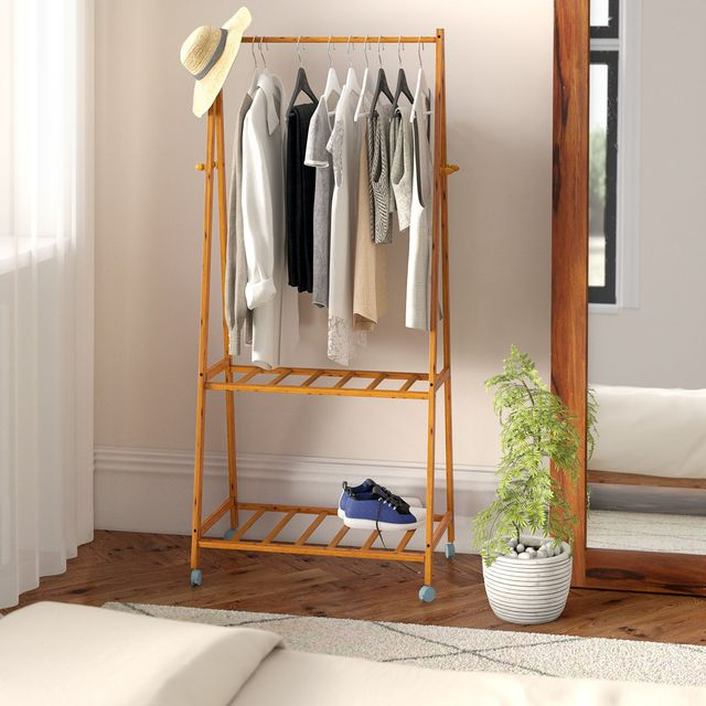 8 Clothes Rails For Extra Bedroom & Hallway Storage ...