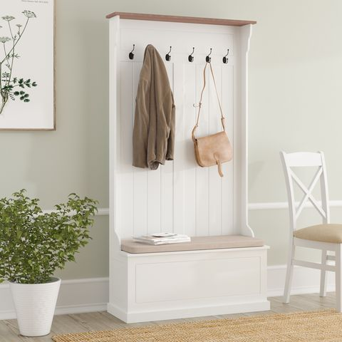 Wayfair shoe rack with coat hanger