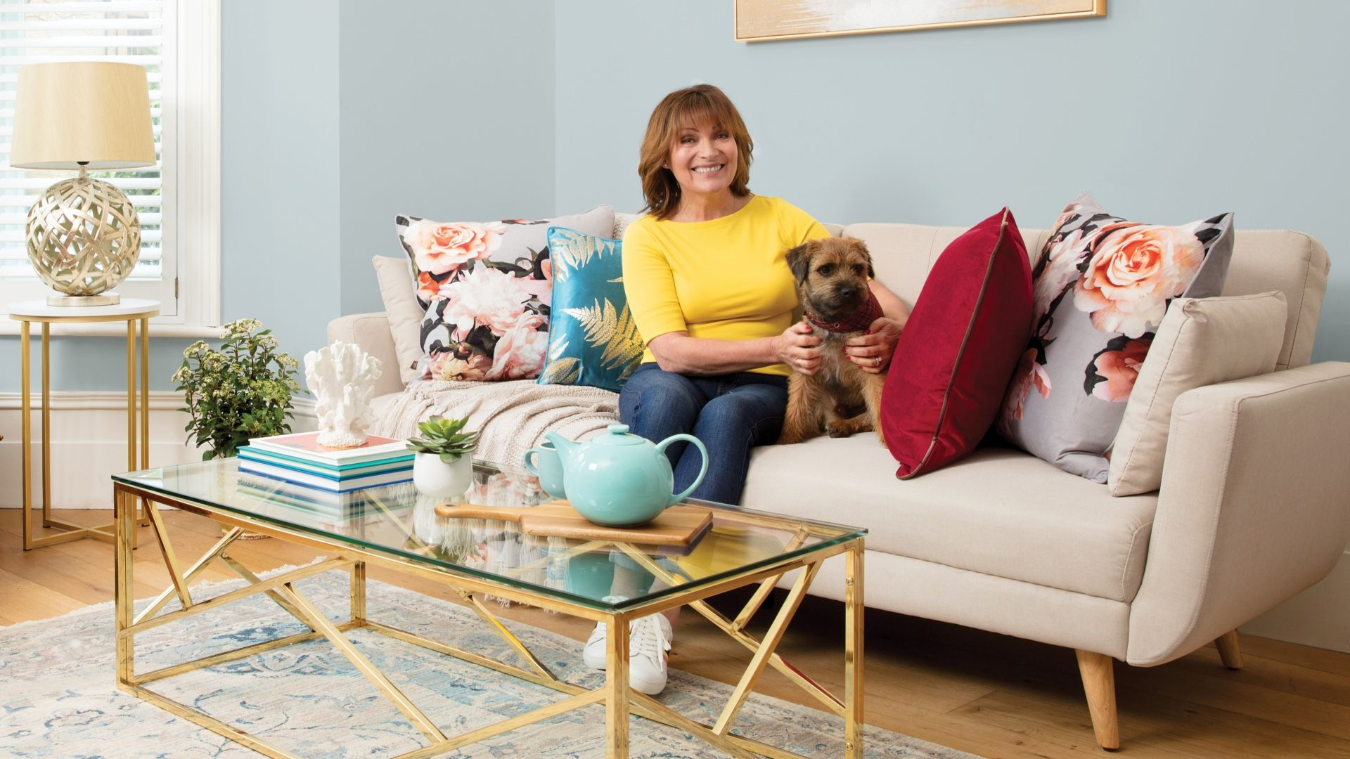 Magnificent Lorraine Kelly On Downsizing To A Smaller House And Gamerscity Chair Design For Home Gamerscityorg