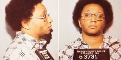Hair, Forehead, Nose, Hairstyle, Chin, Album cover, Jheri curl, Afro, Eyewear, Glasses,