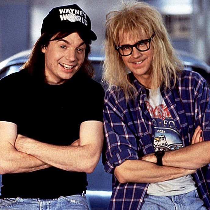 "Wayne's World Maybe one of the best SNL -to-film adaptations ever made, the boneheaded duo Wayne and Garth bring their heavy metal-loving cable access show to a wider audience—and deliver an iconic lip sync to Queen's ""Bohemian Rhapsody."""