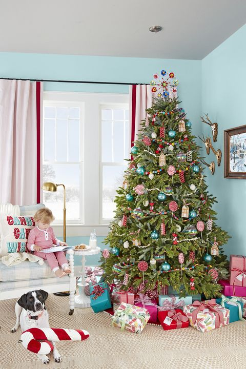 4cec53af5 76 Best Christmas Tree Decorating Ideas - How to Decorate a ...
