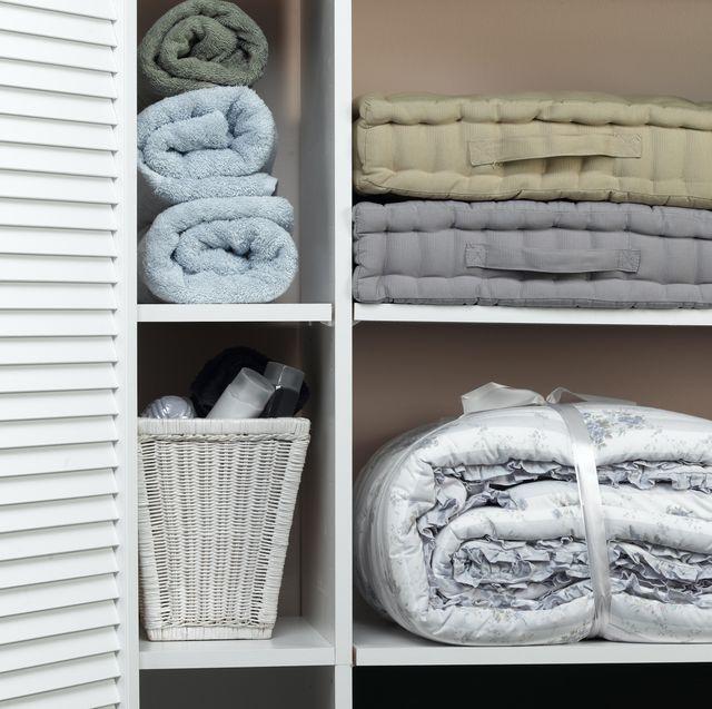 13 Best Linen Closet Organization Ideas How To Organize A Linen Closet