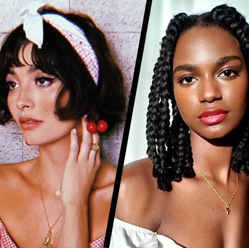 25 Ways To Style A Bob Bob Hair Styling Ideas And Inspiration