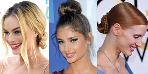 How to style a bun