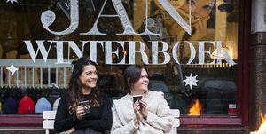Foto's van de lancering van het JAN Winterboek