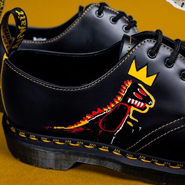 馬汀鞋重現basquiat經典畫作!馬汀鞋basquiat全新聯名鞋款1460、1461亮點搶先看