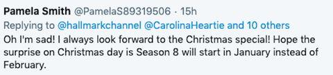 когда зовет сердце рождественский фильм 2020 твиттер реакция