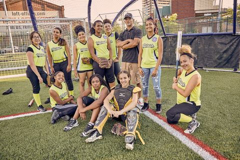 Camden New Jersey Softball Teams Changing The City