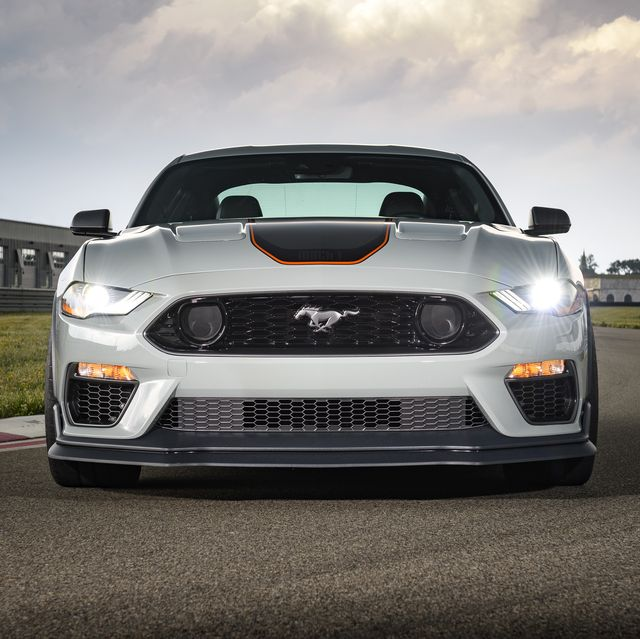 after a 17 year hiatus, the all new mustang mach 1 fastback coupe makes its world premiere   becoming the modern pinnacle of style, handling and 50 liter v 8 pony car performance