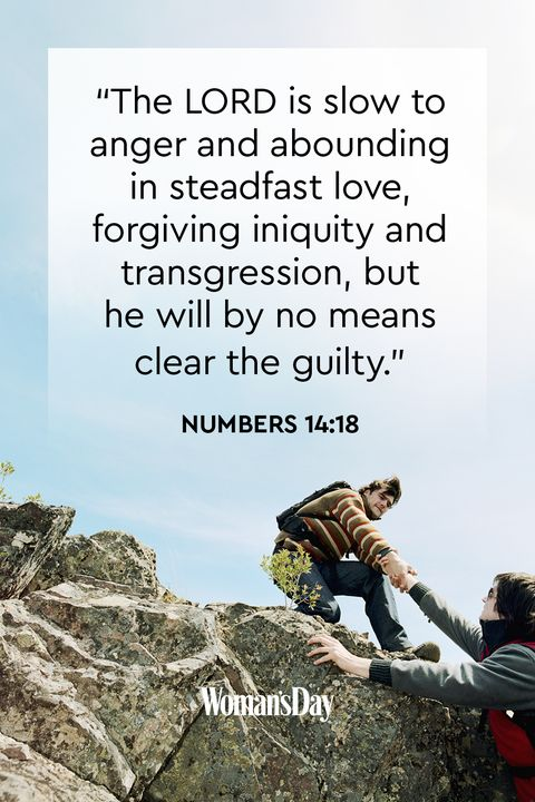 Bible Verses About Forgiveness_Numbers 14:18