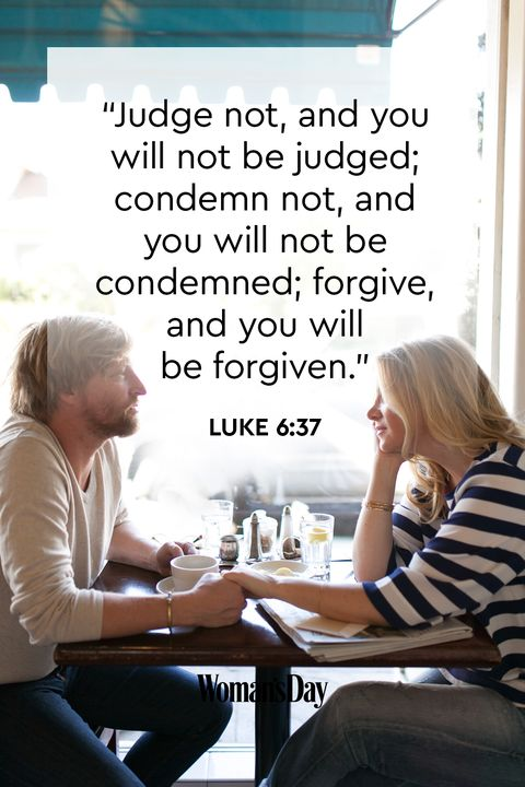 bible verses about forgiveness - Luke 6:37
