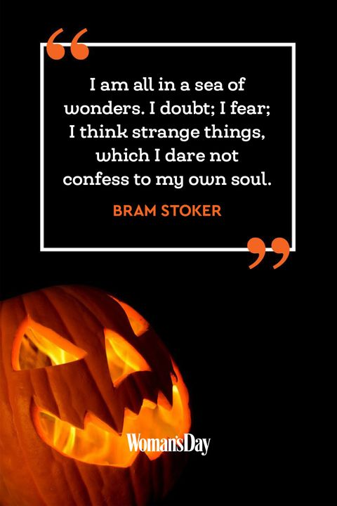 Halloween quotes - Bram Stoker