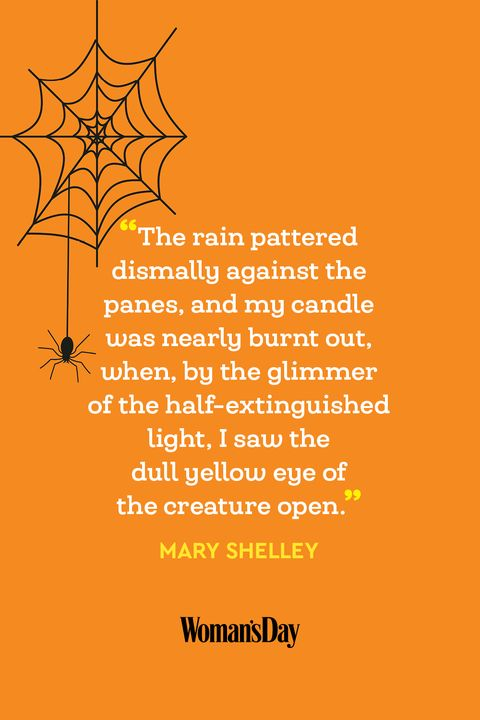 Halloween quotes - Mary Shelley