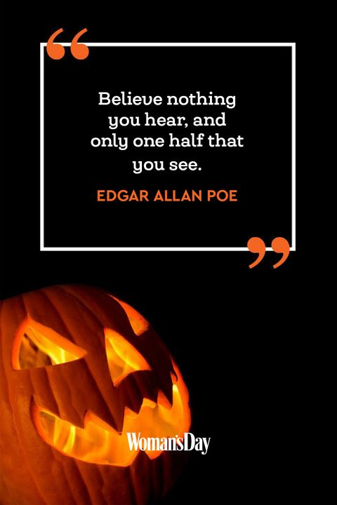 Halloween quotes - Edgar Allan Poe