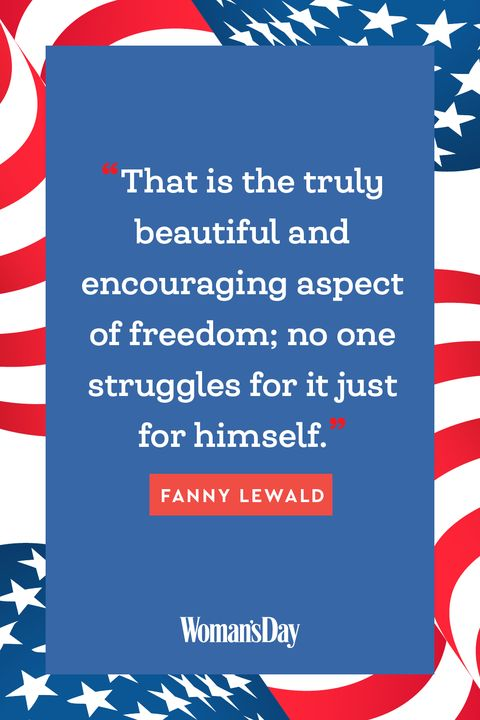 Fourth of July Quotes - Fanny Lewald