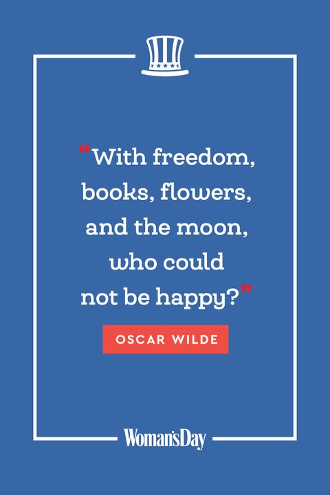 Fourth of July quotes - Oscar Wilde