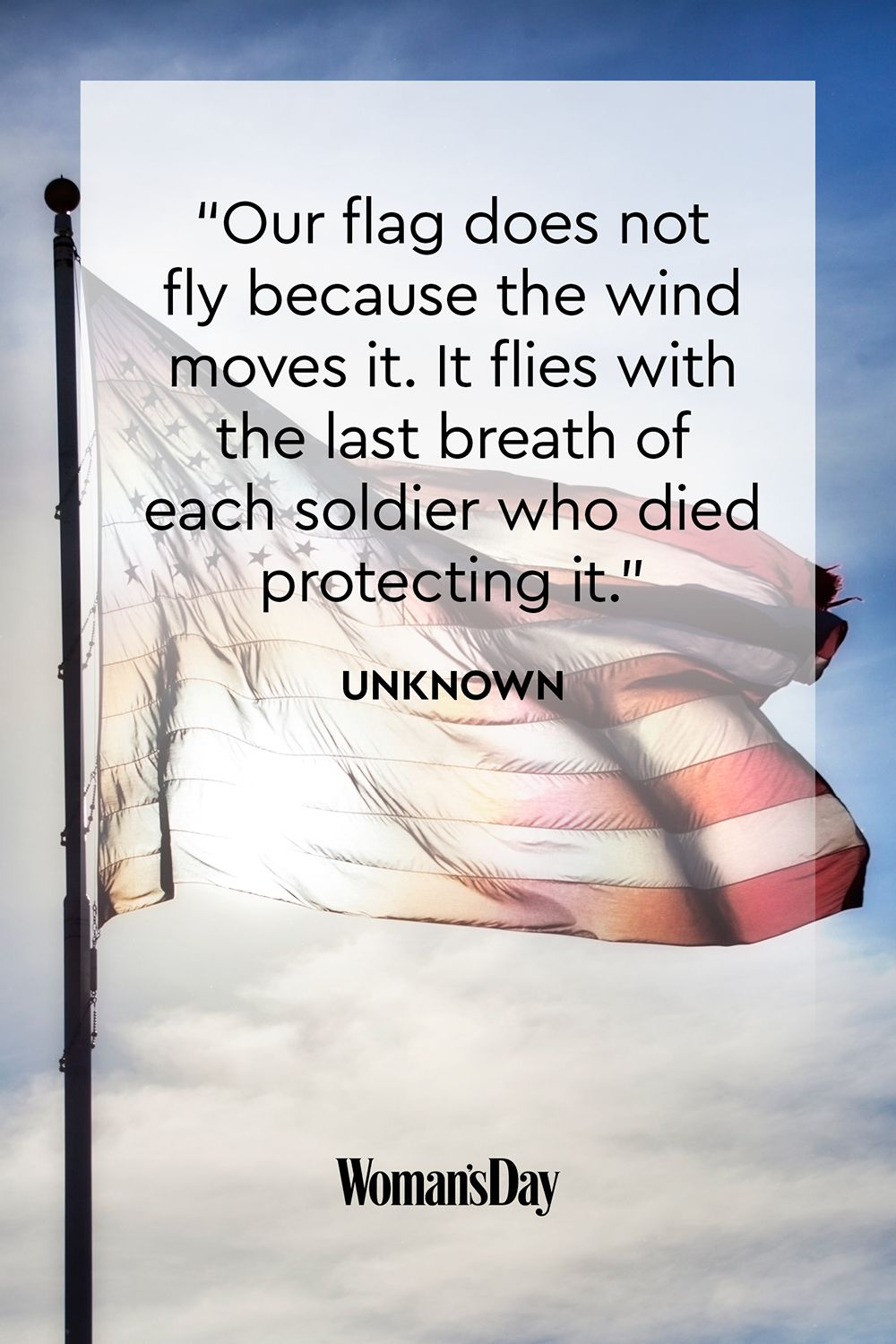 Reflections On Memorial Day >> Best Memorial Day Quotes Quotes That Honor The Troops