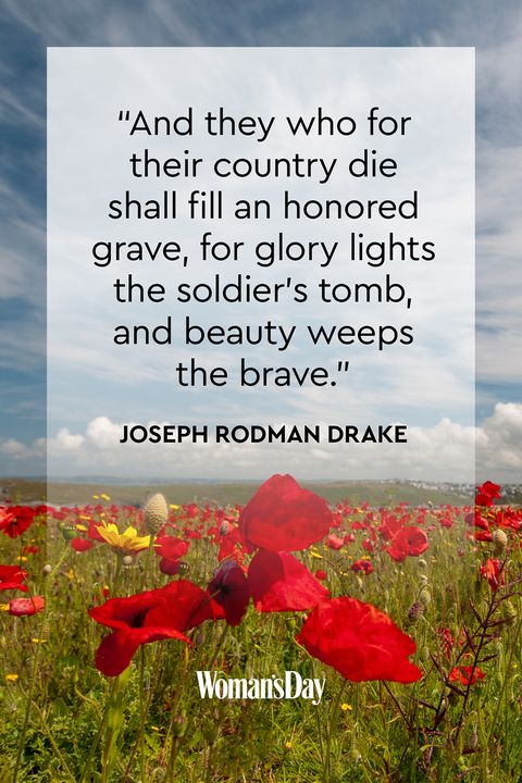 Best Memorial Day Quotes - Quotes That Honor the Troops