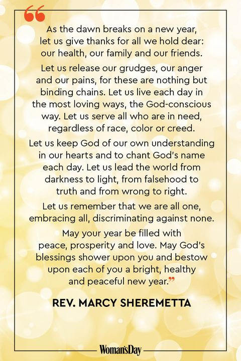 new year prayers