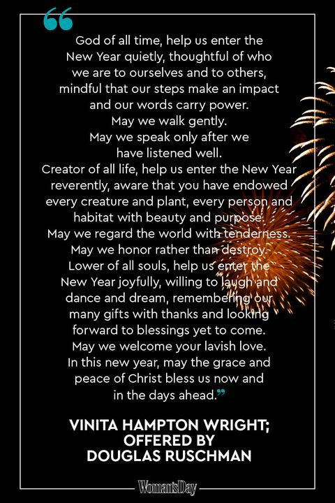 new years prayers