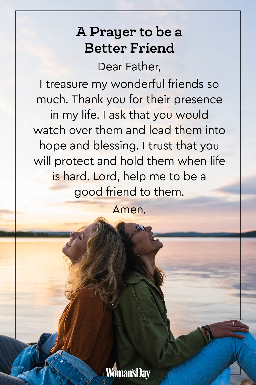 prayers for a friend best friends prayer
