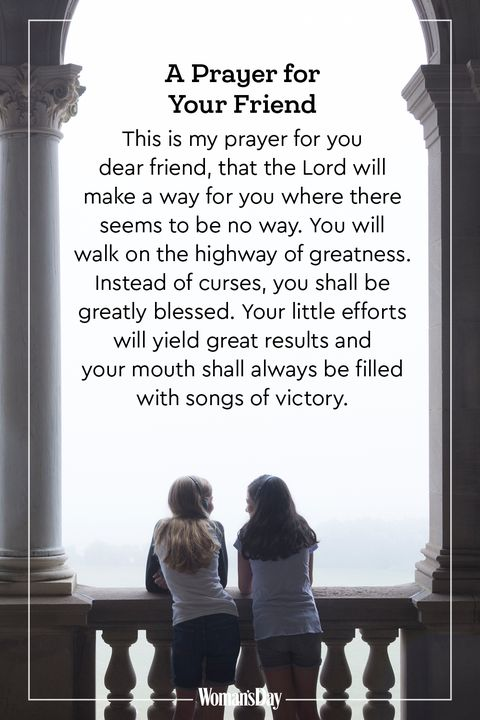 15 Prayers for a Friend — Best Friends Prayer