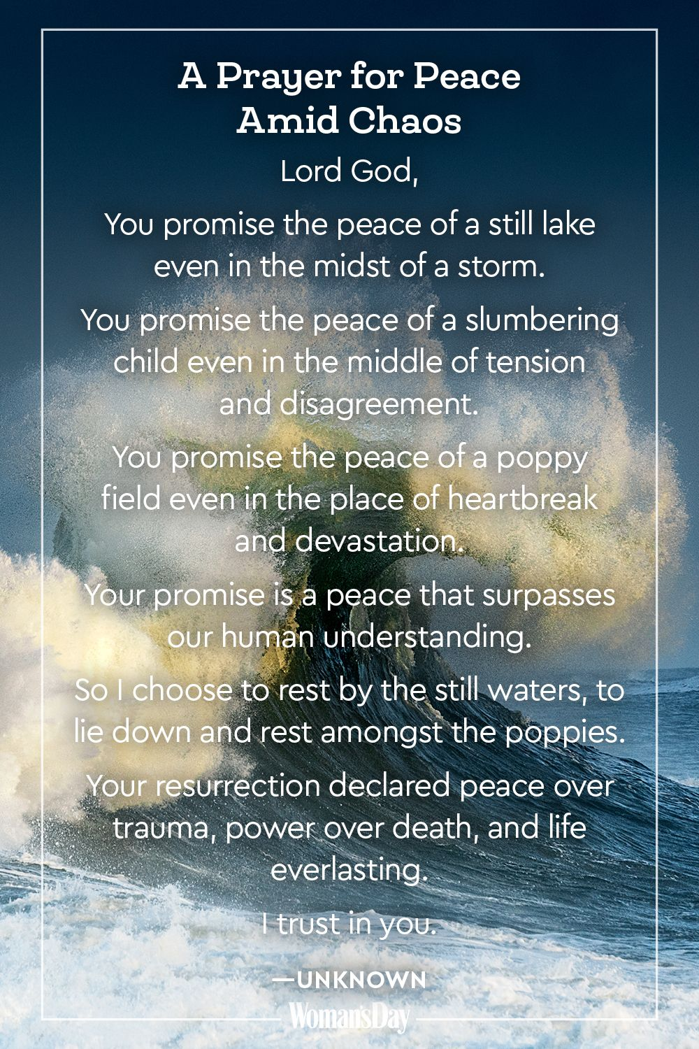 20 Prayers for Peace — Prayers for Peace and Comfort