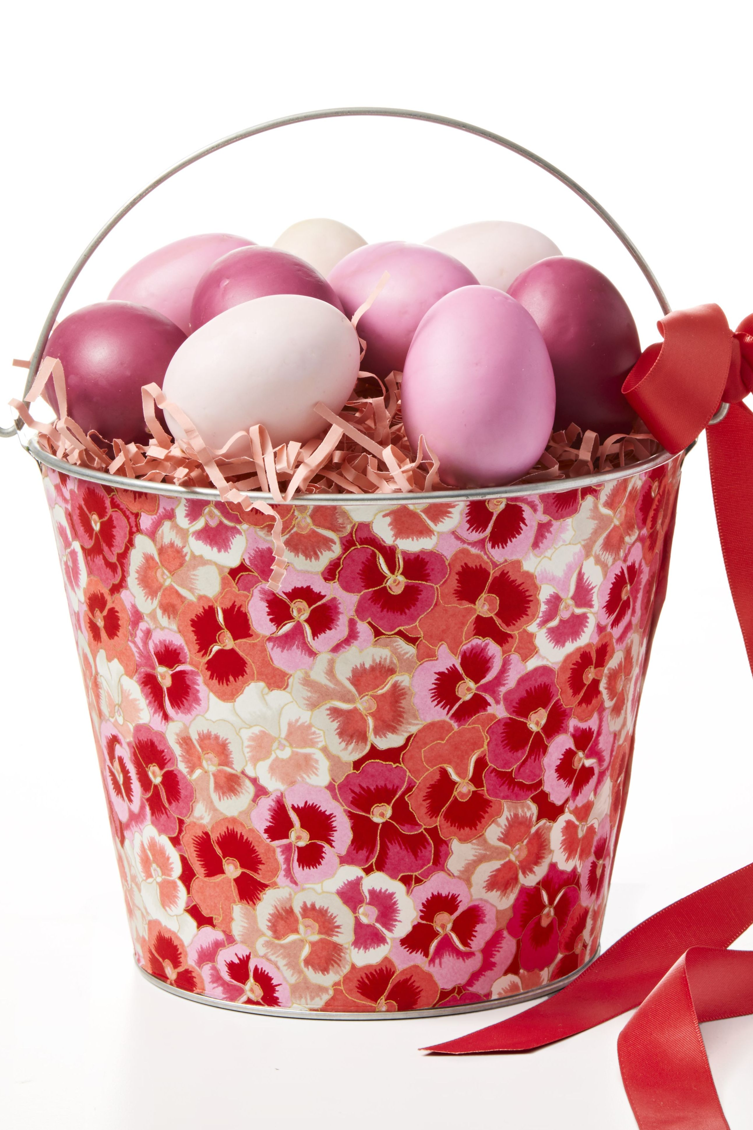 Easter basket ideas -DIY Decoupage Basket
