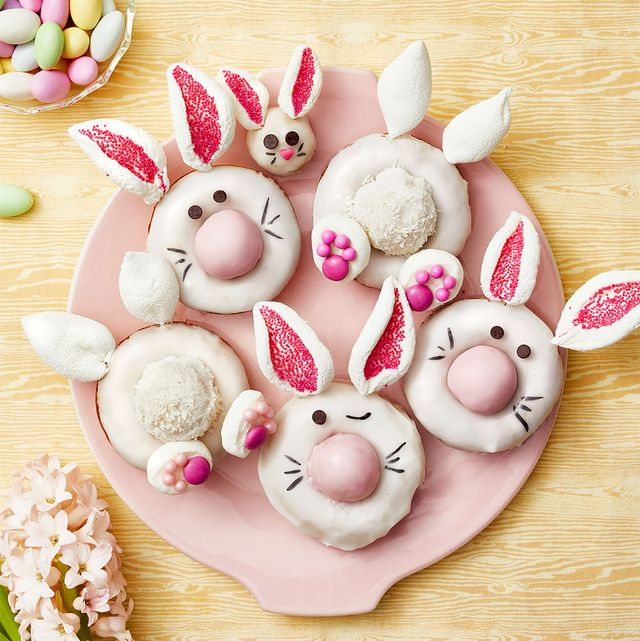 bunny donuts  easter desserts  treats