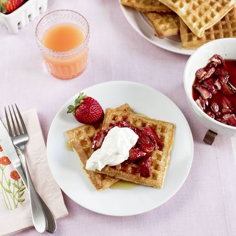 Make-Ahead Mother'sDay Waffles