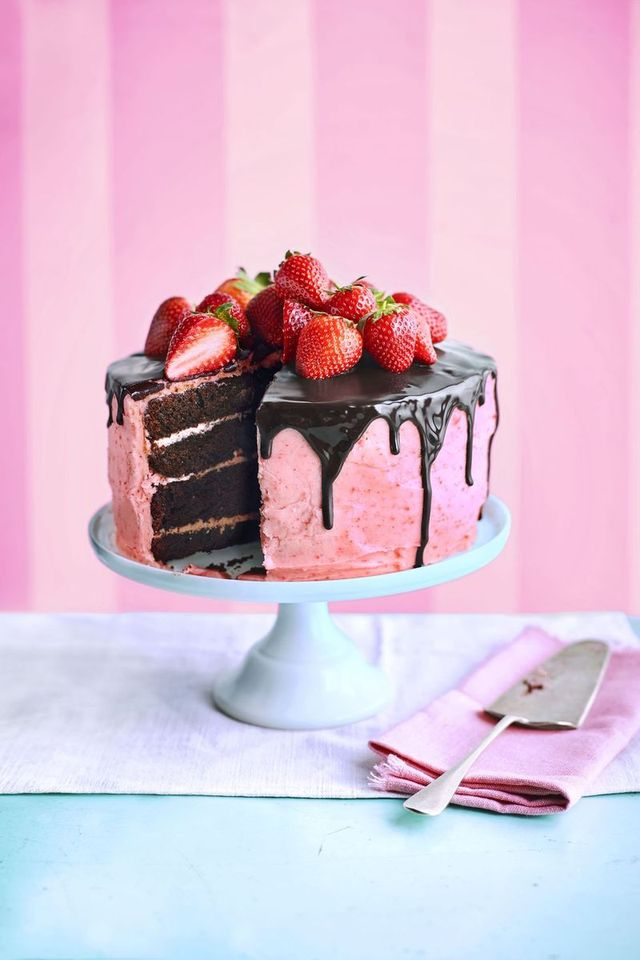 choco berry surprise cake