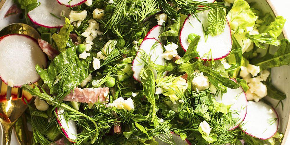 Spring Chopped Salad With Cider Vinaigrette