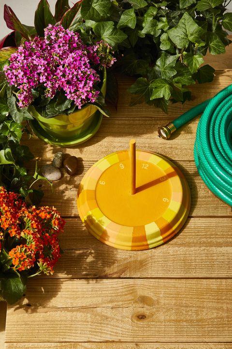 easy spring crafts sundial