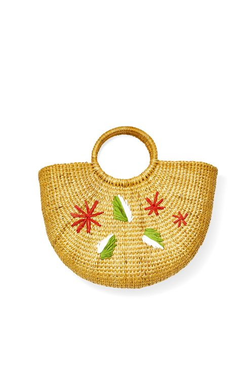 easy spring crafts raffia bag sewing diy