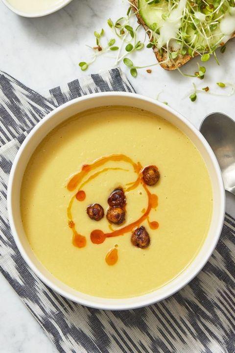 creamy chickpea soup