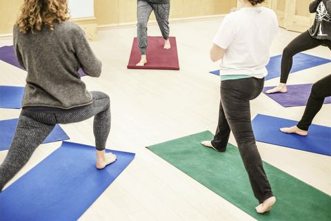Physical fitness, Yoga mat, Yoga, Mat, Contact sport, Martial arts, Individual sports, Combat sport, Leisure, Training,