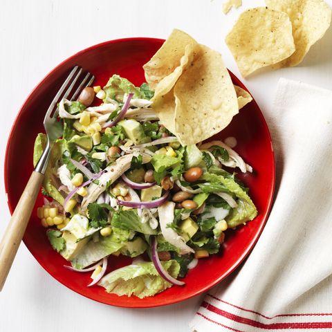 hearty salad recipes - Tex-Mex Chicken Salad