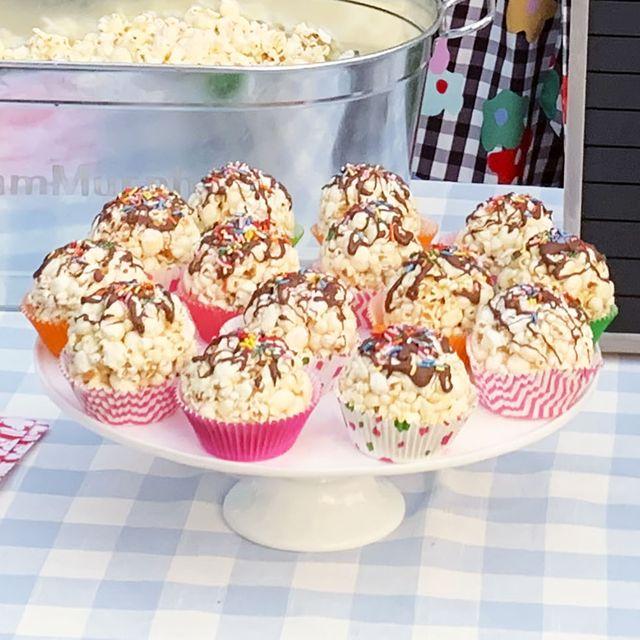 "popcorn ""cupcakes"""