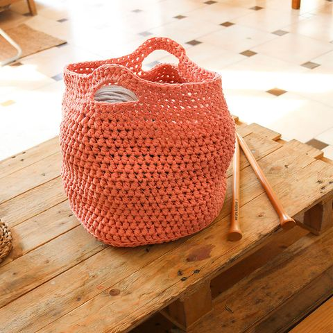 Cylinder Basket Crochet Kit
