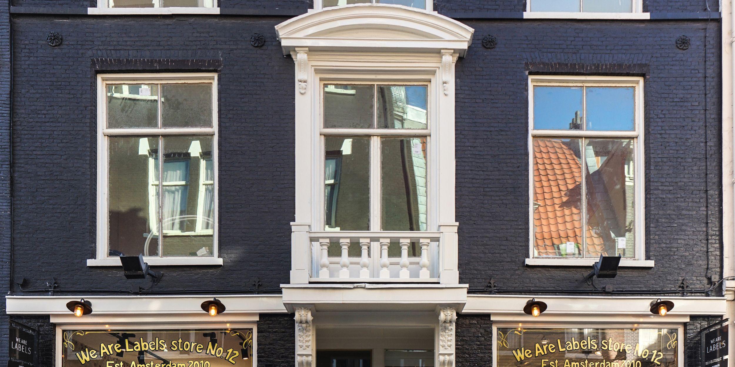 We Are Labels winkel Amsterdam Spiegelstraat