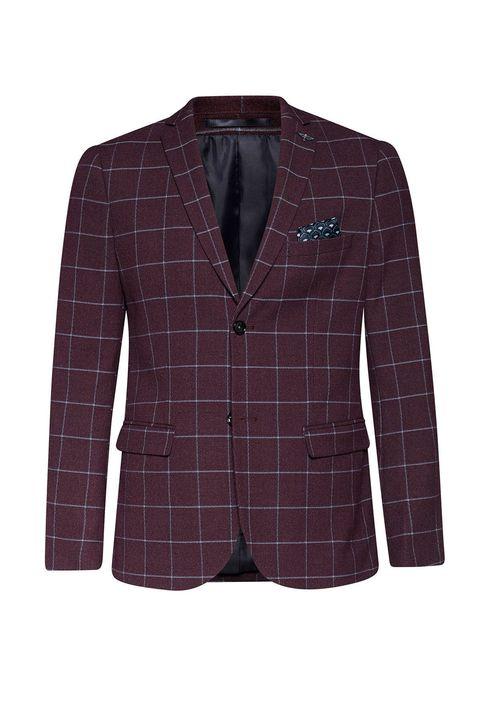 Clothing, Outerwear, Jacket, Blazer, Suit, Brown, Pattern, Sleeve, Design, Top,