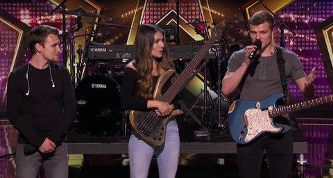 """We Three Gives Emotional Performance on 'America's Got Talent' With Their Song """"Lifeline"""""""